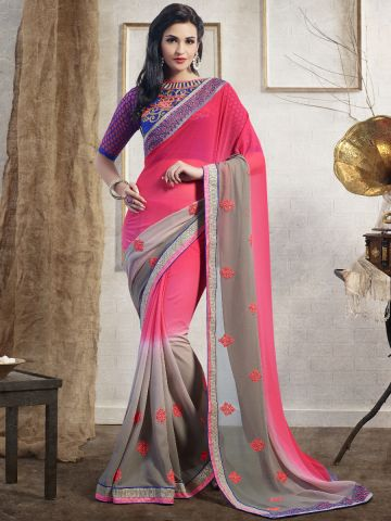 https://static8.cilory.com/103614-thickbox_default/designer-pink-grey-party-wear-saree.jpg
