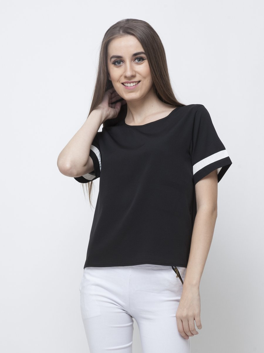 Stylish Tops Collection 2013 For Girls: Yoshe Stylish Black Top