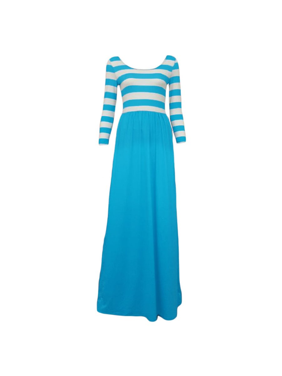 Stroll along tree-lined lanes, with a glass of ice tea and the Lulus Garden District Navy Blue Wrap Maxi Dress flowing in the breeze! Lightweight jersey knit forms this three-quarter sleeve stunner with a wrapping surplice bodice, and tying sash at the waist/5().