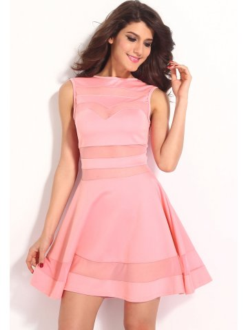 https://static4.cilory.com/167895-thickbox_default/light-pink-mesh-panel-club-skater-dress.jpg
