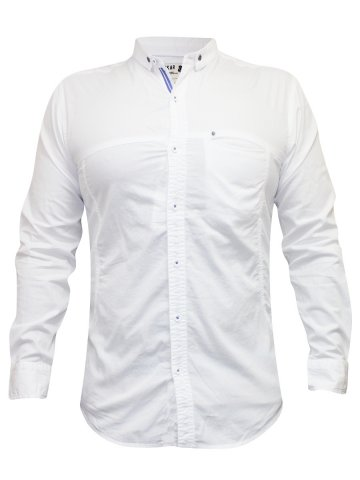 Spykar White Casual Shirt | Ranger-s16-07-white | Cilory.com
