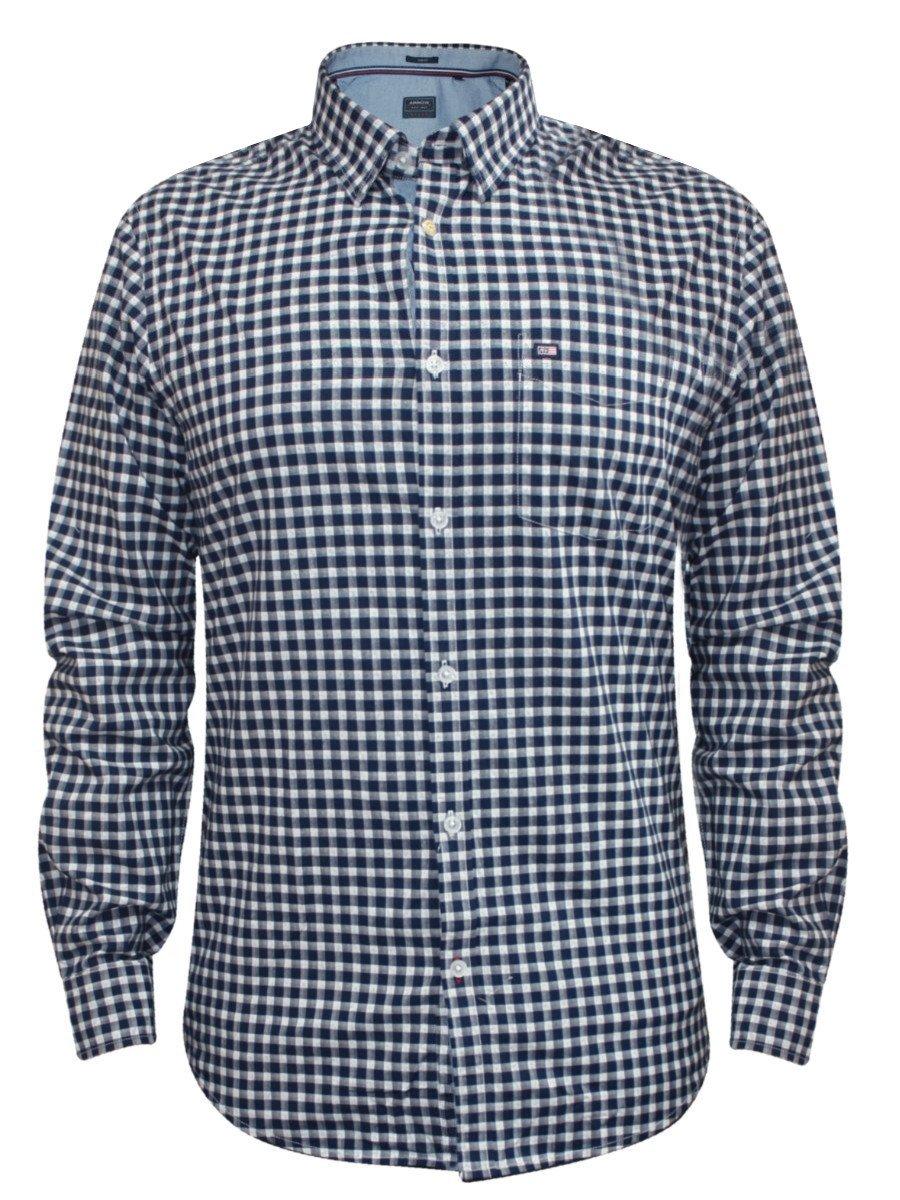 Arrow Blue Formal Check Shirt  a3f4aaf8f