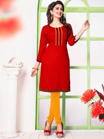 https://static2.cilory.com/206627-thickbox_default/paradise-red-cotton-kurti.jpg