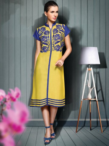 https://static.cilory.com/212323-thickbox_default/sizzle-lemon-blue-rayon-cotton-kurti.jpg