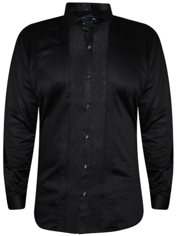 Rebel Black Party Wear Shirt | R-931-black | Cilory.com