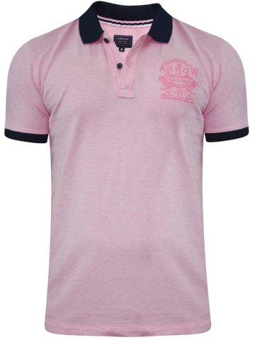 Arrow Light Pink Polo T-Shirt at cilory