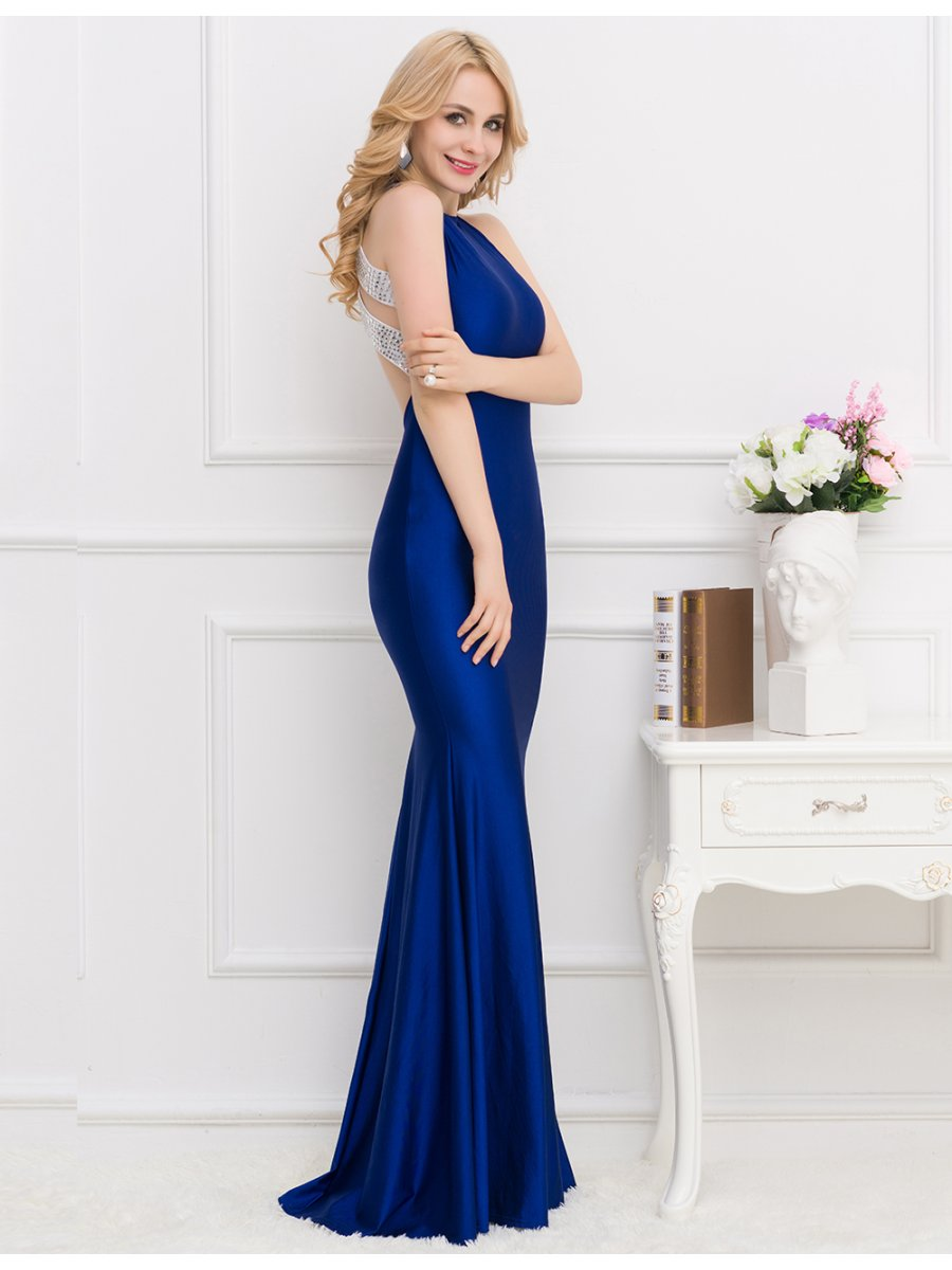 c8e44d1759c Classic Navy Evening Dress - Gomes Weine AG