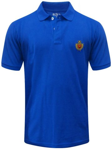 Red Tape Midnight Blue Polo T Shirt at cilory
