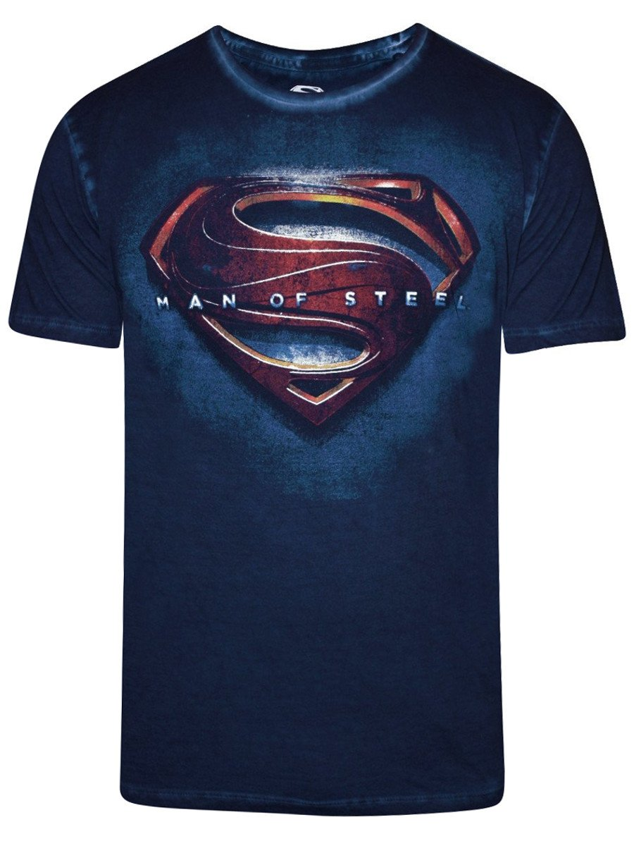 buy t shirts online superman indigo cold pigme crew. Black Bedroom Furniture Sets. Home Design Ideas