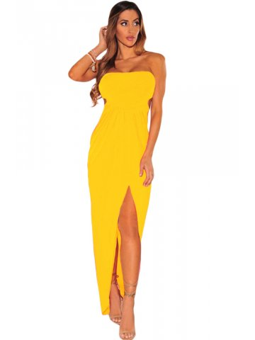 https://static1.cilory.com/267624-thickbox_default/mustard-draped-hollow-out-maxi-dress.jpg