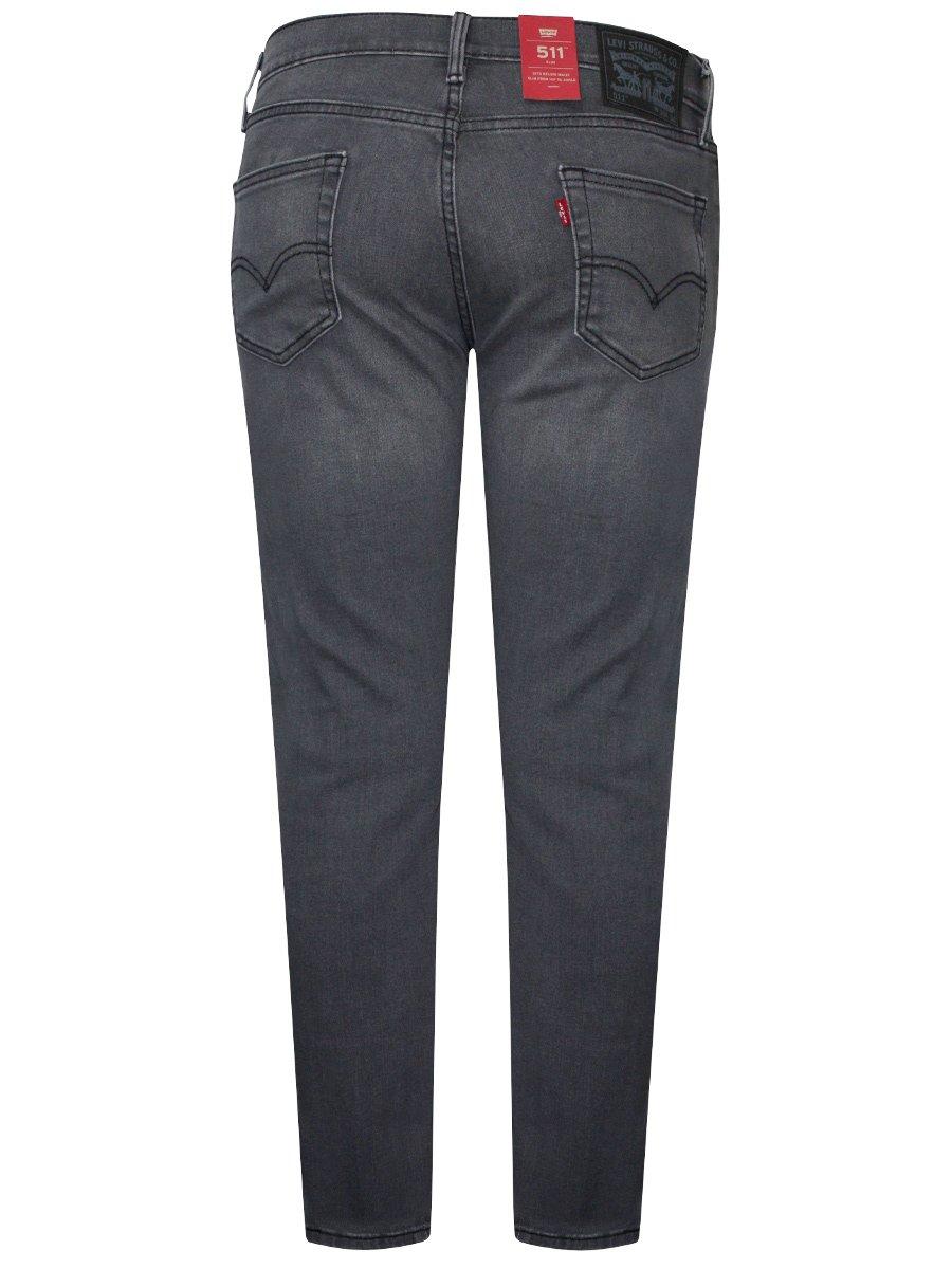 levis 511 grey slim stretch jeans 18298 0321. Black Bedroom Furniture Sets. Home Design Ideas