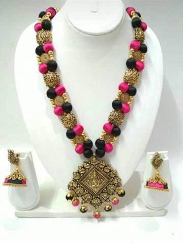 https://static4.cilory.com/296249-thickbox_default/ruby-hand-crafted-silk-thread-necklace-set.jpg
