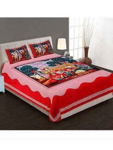 U003eJaipur Cotton Double Bedsheet Set.  Https://static5.cilory.com/310806 Thickbox_default/jaipur