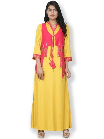https://static1.cilory.com/311745-thickbox_default/dharini-yellow-rayon-cotton-kurti-with-gold-printed-jacket.jpg
