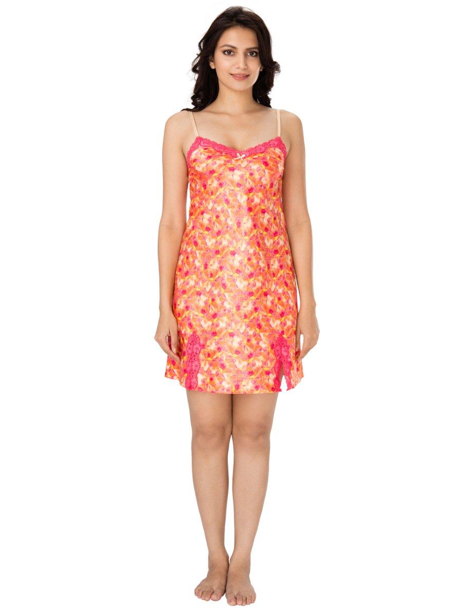 Orange Nighty Daisy Fantasia Model