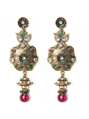 https://d38jde2cfwaolo.cloudfront.net/32175-thickbox_default/elegant-polki-work-earring-carved-with-stone-and-beads.jpg