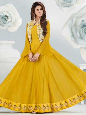https://static9.cilory.com/350405-thickbox_default/arihant-yellow-embroidered-long-kurti-with-cream-jacket.jpg