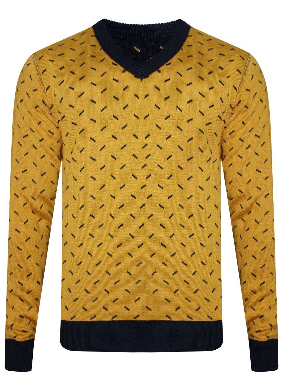 Peter england navy mustard light winter reversible sweater jpg 900x1200 Navy  and mustard d4481f39d