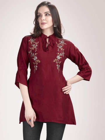 https://static4.cilory.com/367989-thickbox_default/preet-maroon-embroidered-top.jpg