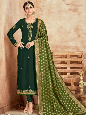 https://static4.cilory.com/374373-thickbox_default/bottle-green-semi-stitched-embroidered-suit-with-banarasi-dupatta.jpg