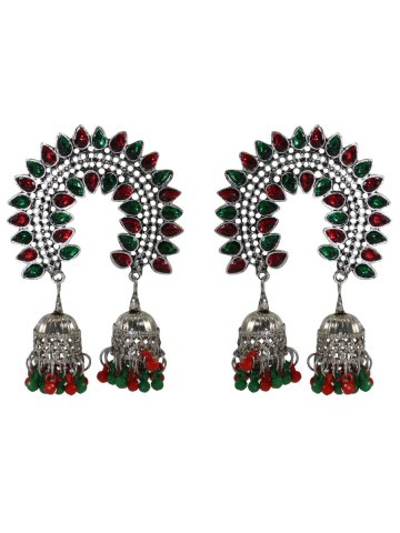 https://static5.cilory.com/392056-thickbox_default/green-red-kundan-work-handicraft-jhumkis.jpg