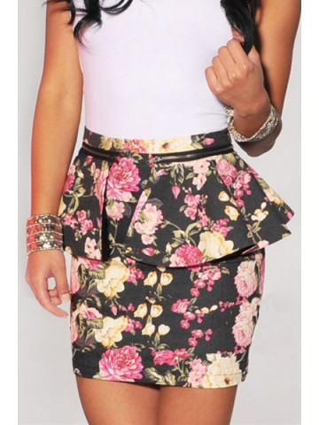 https://static1.cilory.com/39510-thickbox_default/black-multi-color-floral-print-peplum-skirt.jpg