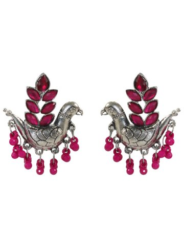 https://static3.cilory.com/396963-thickbox_default/birds-shaped-pink-handicraft-earrings.jpg