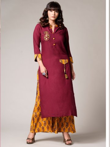 https://static4.cilory.com/397106-thickbox_default/psyna-maroon-kurti-with-bottom.jpg