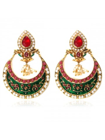 https://static9.cilory.com/39800-thickbox_default/elegant-polki-work-earrings-engraved-with-meena-and-beads.jpg