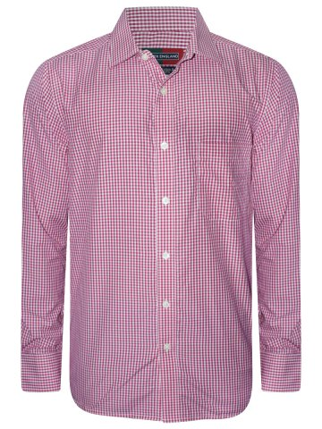Peter England Pink Checks Shirt at cilory