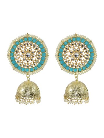 https://static6.cilory.com/407238-thickbox_default/golden-sky-blue-meenakari-work-earrings.jpg