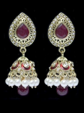 https://static8.cilory.com/53690-thickbox_default/elegant-polki-work-earring-carved-with-stone-and-beads.jpg