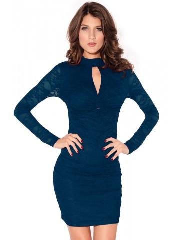 https://d38jde2cfwaolo.cloudfront.net/75237-thickbox_default/fashion-knot-front-lace-dress-blue.jpg