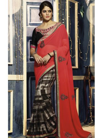 https://d38jde2cfwaolo.cloudfront.net/97947-thickbox_default/designer-embroidered-black-and-rani-saree.jpg